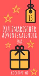 Kulinarischer Adventskalender 2018 - Tuerchen 13
